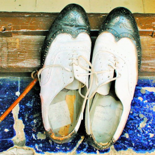 OLD DANCING SHOES